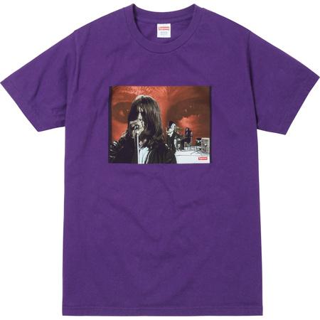 Supreme®/Black Sabbath© Paranoid Tee (Purple)