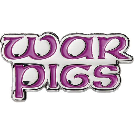 Supreme®/Black Sabbath© War Pigs Pin (Purple)