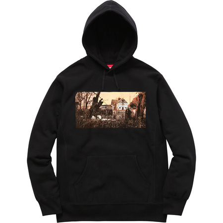Supreme®/Black Sabbath© Hooded Sweatshirt (Black)