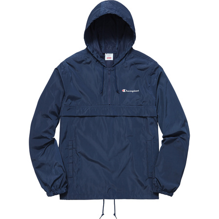 Supreme®/Champion® Half Zip Windbreaker (Navy)