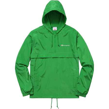 Supreme®/Champion® Half Zip Windbreaker (Green)