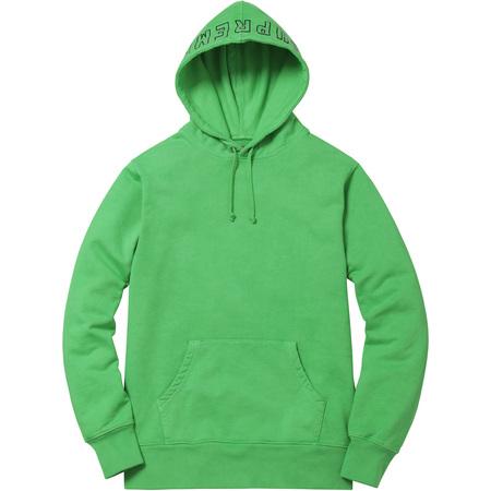 Overdyed Hooded Sweatshirt (Green)
