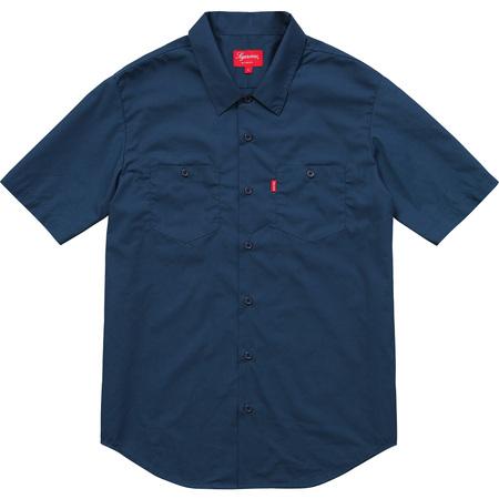 Mary S/S Work Shirt (Navy)