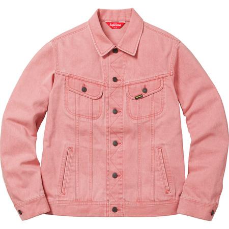 Denim Trucker Jacket (Washed Pink)