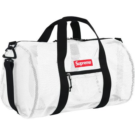 Mesh Duffle Bag (White)