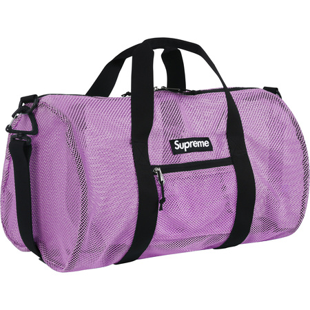 Mesh Duffle Bag (Purple)