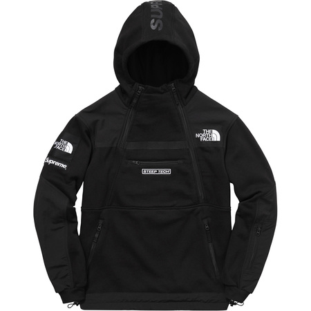 Supreme®/The North Face® Steep Tech Hooded Sweatshirt (Black)