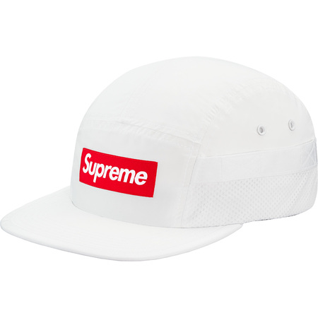 Mesh Pocket Camp Cap (White)