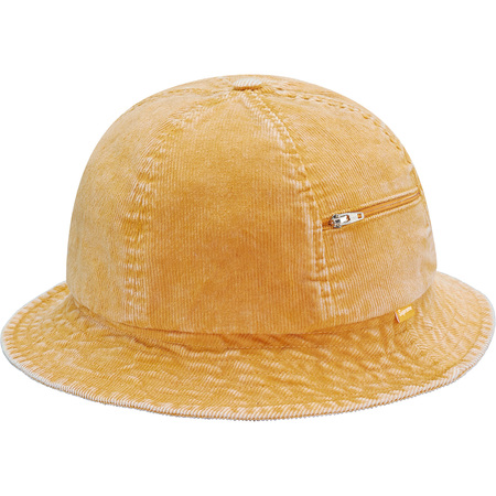 Cord Zip Bell Hat (Gold)