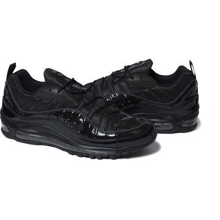 Supreme®/Nike® Air Max 98 (Black)