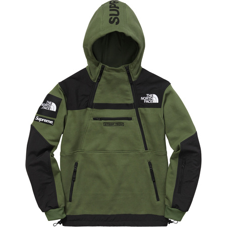 Supreme®/The North Face® Steep Tech Hooded Sweatshirt (Olive)