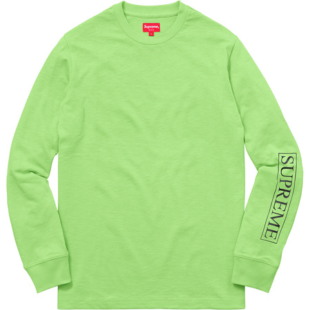Roma L/S Top (Lime Green)