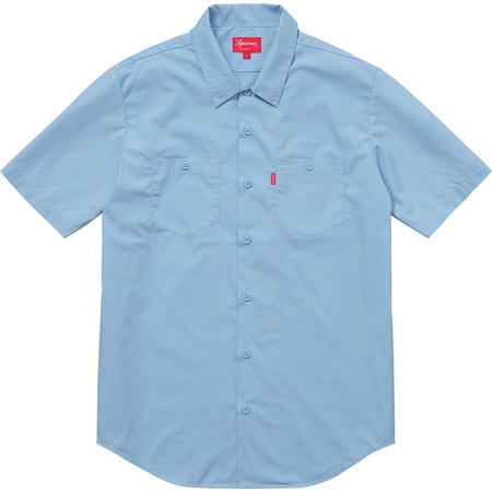 Mary S/S Work Shirt (Light Blue)