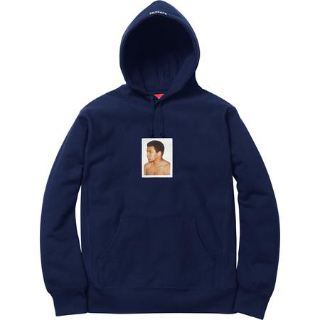 Ali/Warhol Hooded Sweatshirt (Navy)