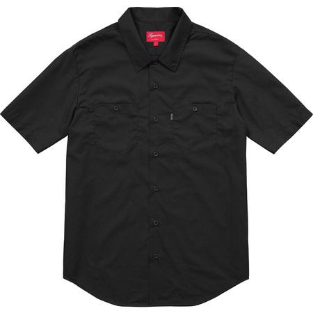 Mary S/S Work Shirt (Black)