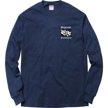Productions L/S Tee (Navy)