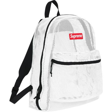 Mesh Backpack (White)