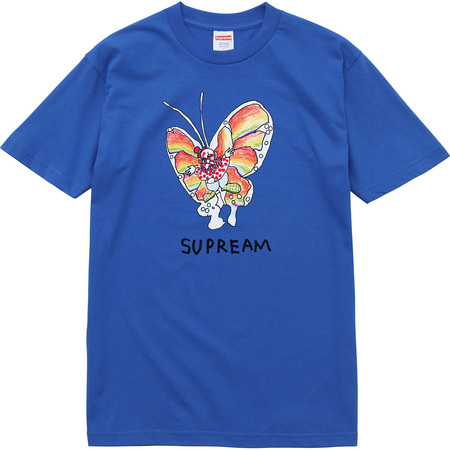 Gonz Butterfly Tee (Royal)