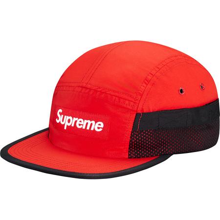 Mesh Pocket Camp Cap (Red)