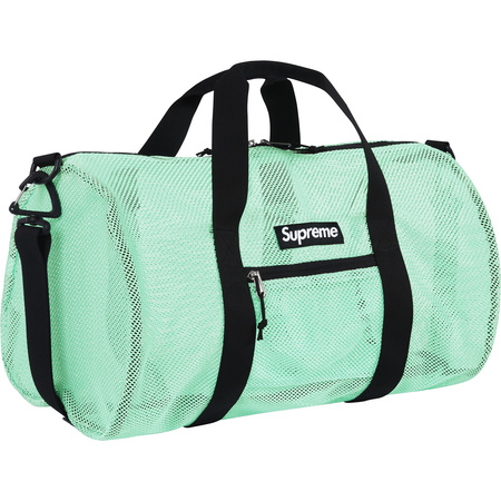 Mesh Duffle Bag (Mint)
