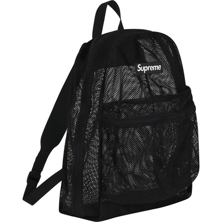 Mesh Backpack (Black)