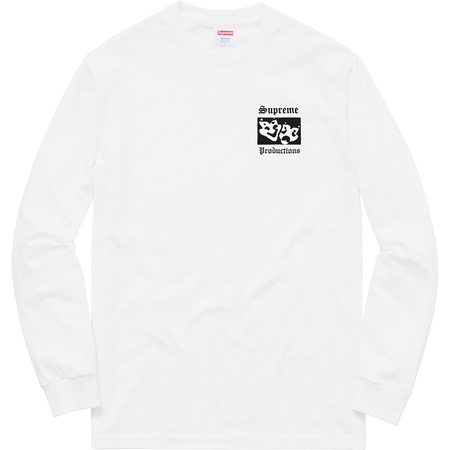 Productions L/S Tee (White)