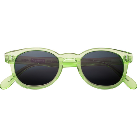 Factory Sunglasses (Clear Lime Green)