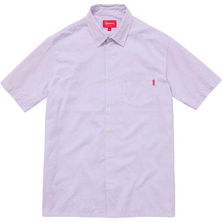 Lightweight S/S Oxford Shirt (Light Purple)