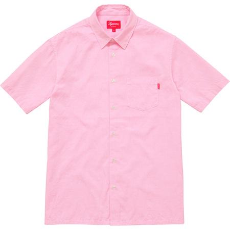 Lightweight S/S Oxford Shirt (Pink)
