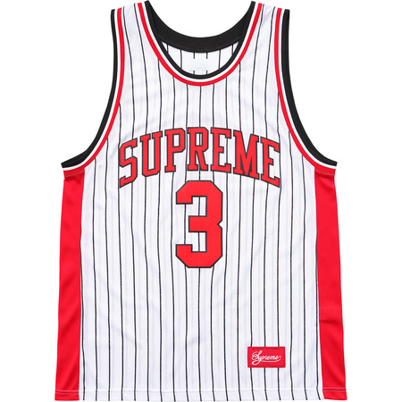 Crossover Basketball Jersey (White)