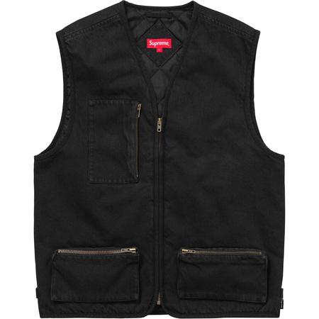 Denim Vest (Black)