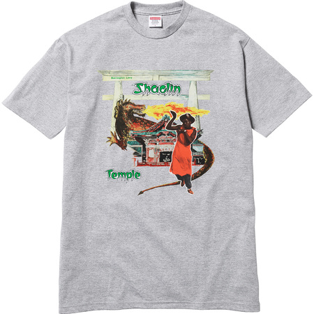 Supreme®/Barrington Levy & Jah Life Shaolin Temple Tee (Heather Grey)