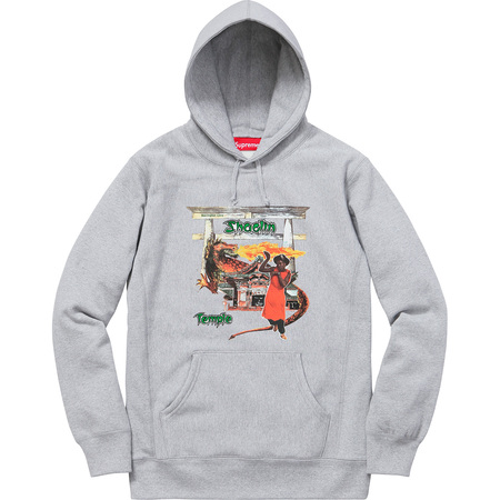 Supreme®/Barrington Levy & Jah Life Shaolin Temple Hooded Sweatshirt (Heather Grey)