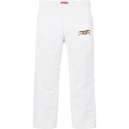 Supreme®/ANTIHERO® Work Pant (White)