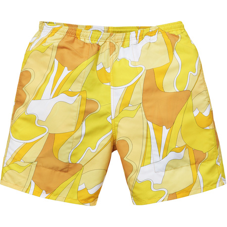 Abstract Water Short (Yellow)