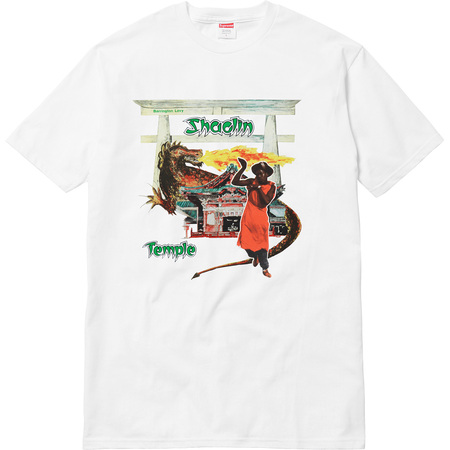Supreme®/Barrington Levy & Jah Life Shaolin Temple Tee (White)