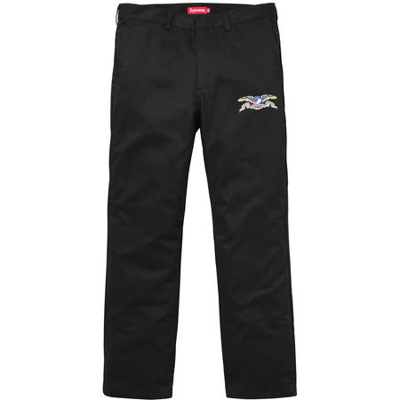 Supreme®/ANTIHERO® Work Pant (Black)