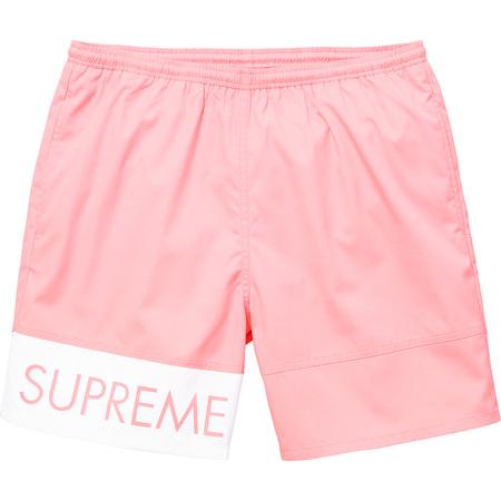 Banner Water Short (Pink)