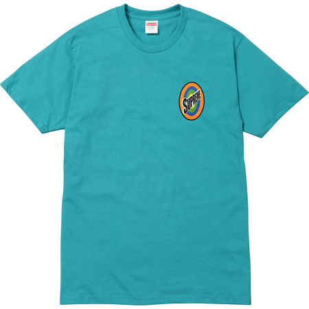 Spin Tee (Turquoise)