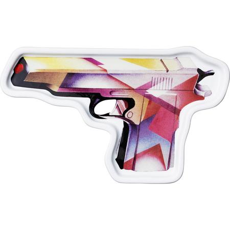Ceramic Mendini Gun Tray (Multi)