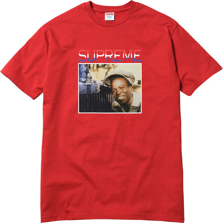 Supreme®/Barrington Levy & Jah Life Englishman Tee (Red)