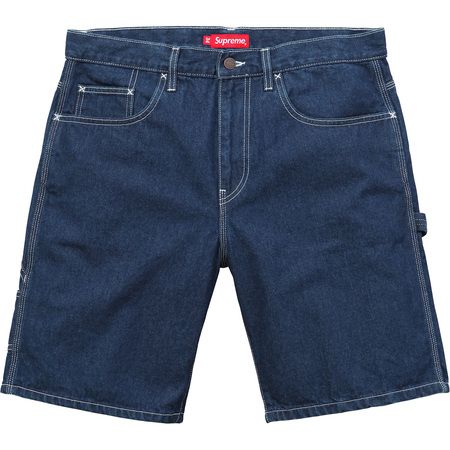 Painter Short (Blue Denim)