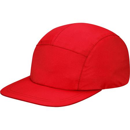 Taped Seam Camp Cap (Red)