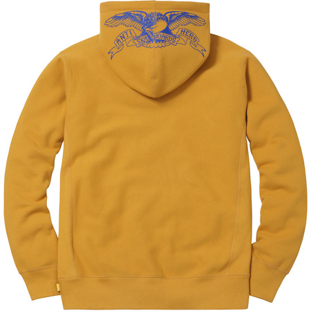 Supreme®/ANTIHERO® Hooded Sweatshirt (Mustard)