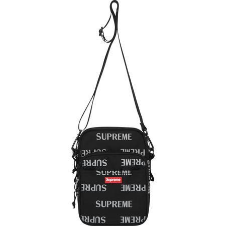 3M® Reflective Repeat Shoulder Bag (Black)