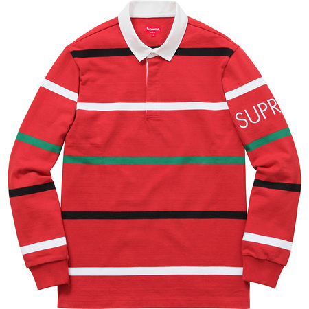 Striped Rugby (Red)