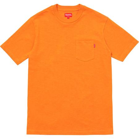 S/S Pocket Tee (Bright Orange)
