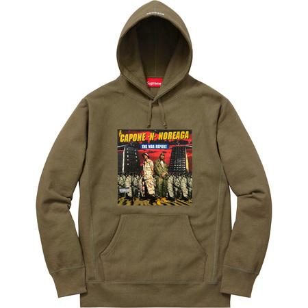 The War Report Hooded Sweatshirt (Olive)