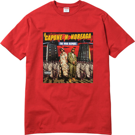 The War Report Tee (Red)