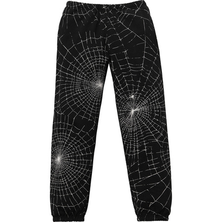 Spider Web Sweatpant (Black)